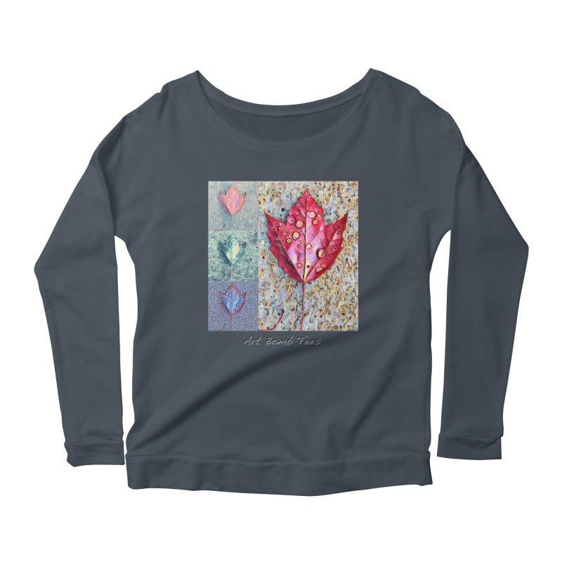 Autumn Colors  Women's Scoop Neck Longsleeve T-Shirt by artbombtees's Artist Shop