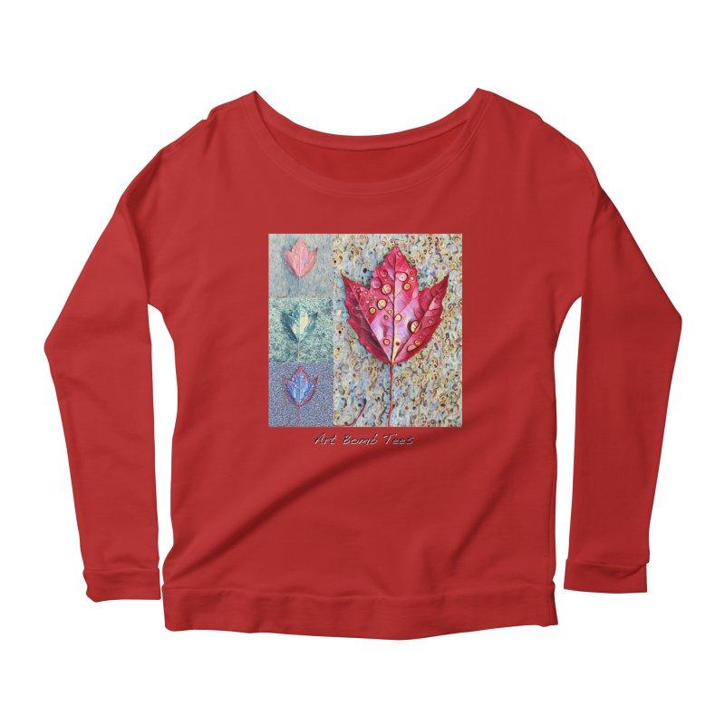 Autumn Colors  Women's Longsleeve Scoopneck  by artbombtees's Artist Shop