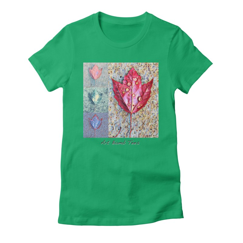 Autumn Colors  Women's Fitted T-Shirt by artbombtees's Artist Shop