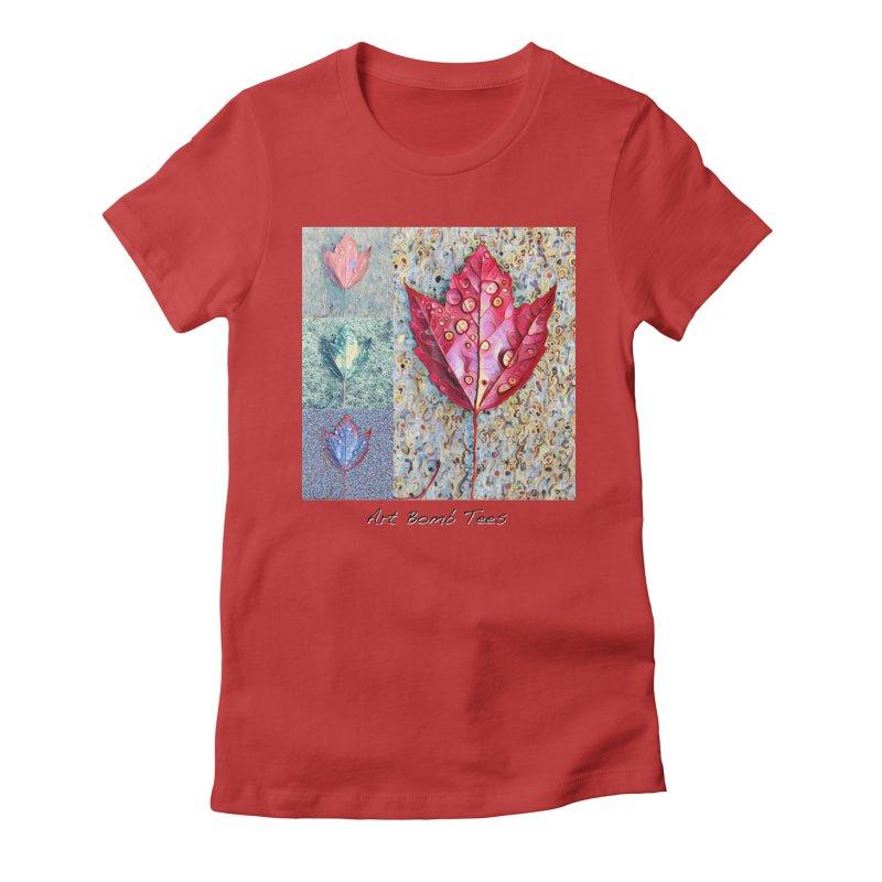 Autumn Colors  Women's Fitted T-Shirt by artbombtees's Artist Shop