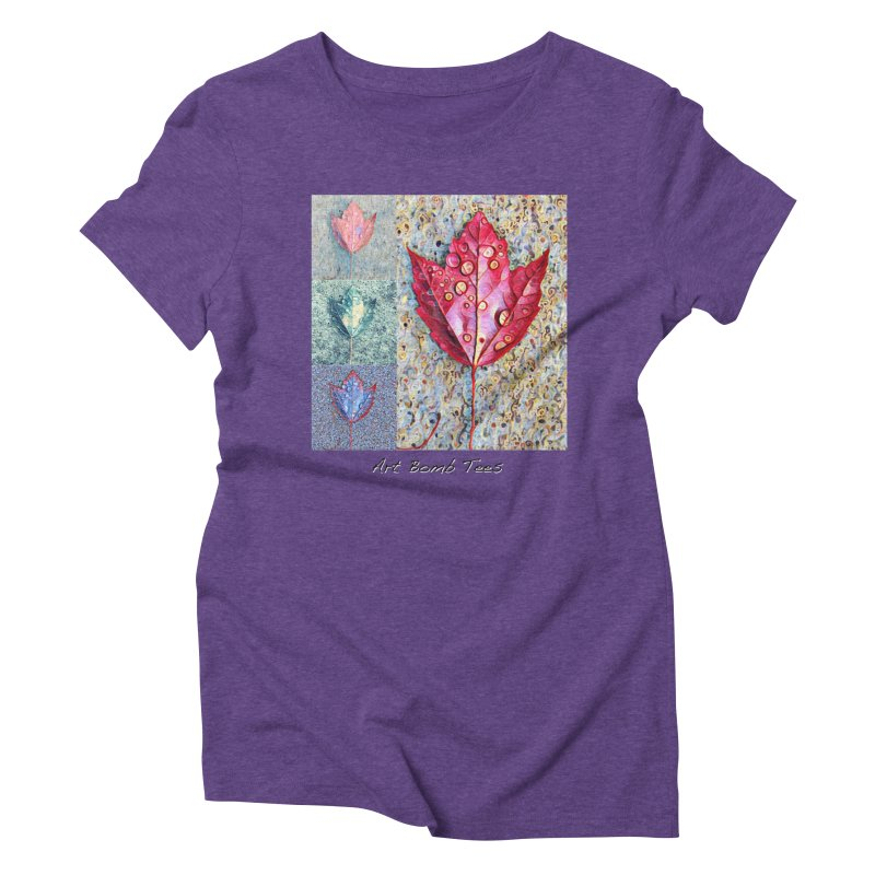 Autumn Colors  Women's Triblend T-shirt by artbombtees's Artist Shop