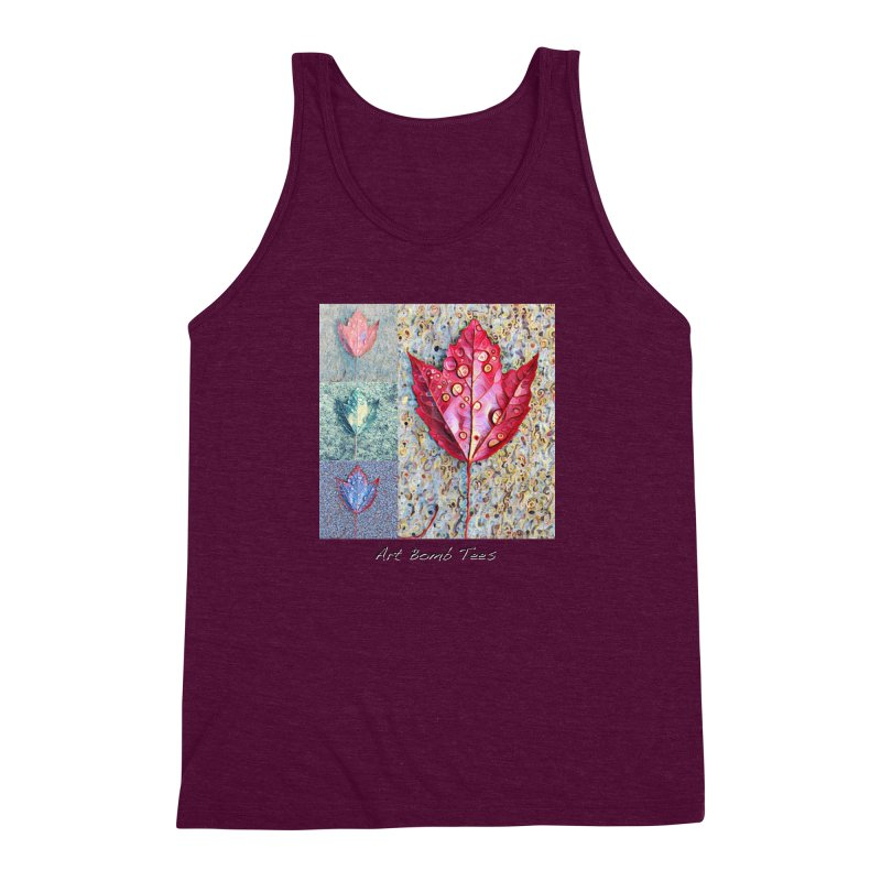 Autumn Colors  Men's Triblend Tank by artbombtees's Artist Shop