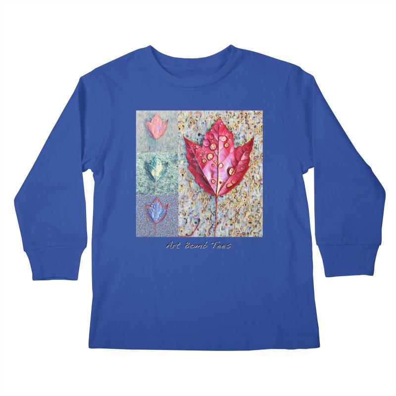 Autumn Colors  Kids Longsleeve T-Shirt by artbombtees's Artist Shop