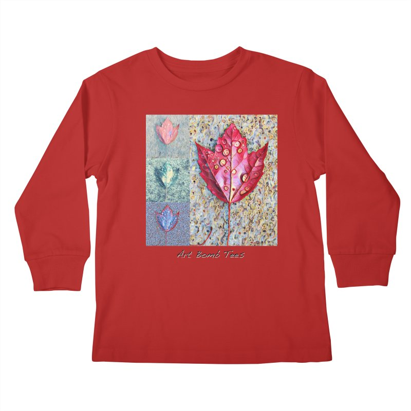 Autumn Colors  Kids Longsleeve T-Shirt by artbombtees's Artist Shop