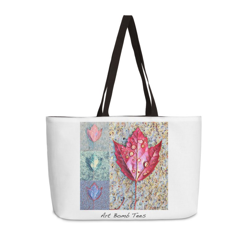 Autumn Colors  in Weekender Bag by artbombtees's Artist Shop