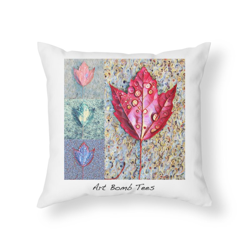 Autumn Colors  Home Throw Pillow by artbombtees's Artist Shop