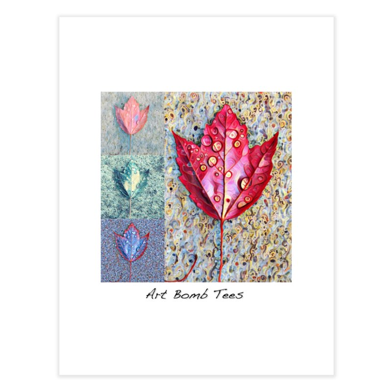 Autumn Colors  Home Fine Art Print by artbombtees's Artist Shop