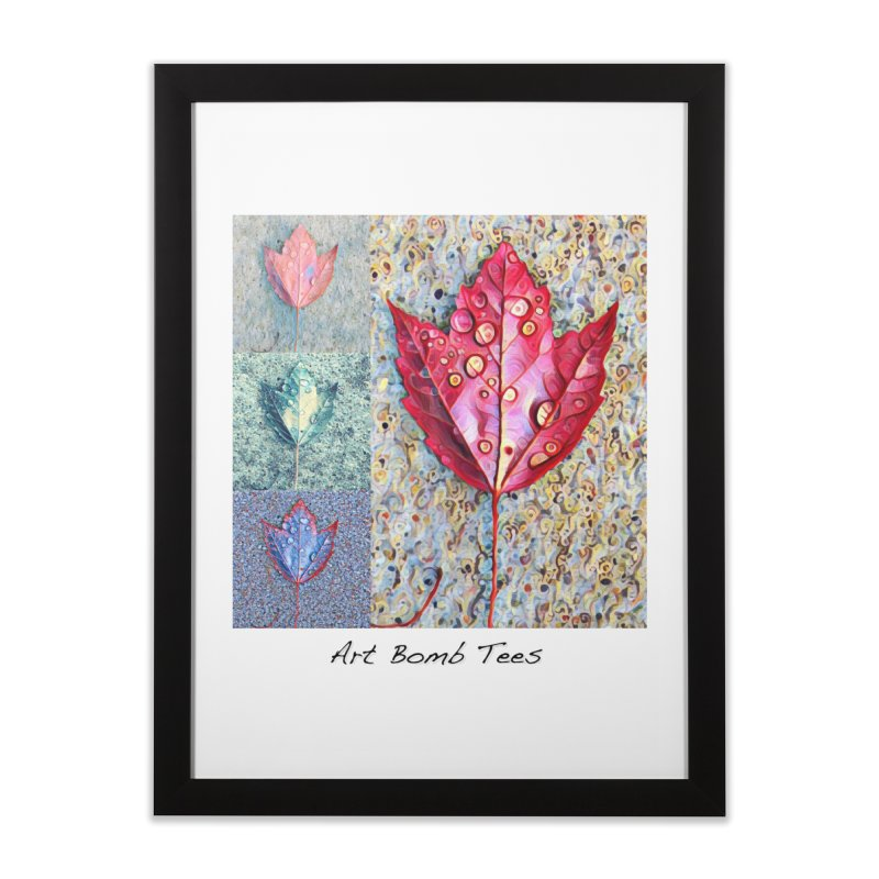 Autumn Colors  Home Framed Fine Art Print by artbombtees's Artist Shop