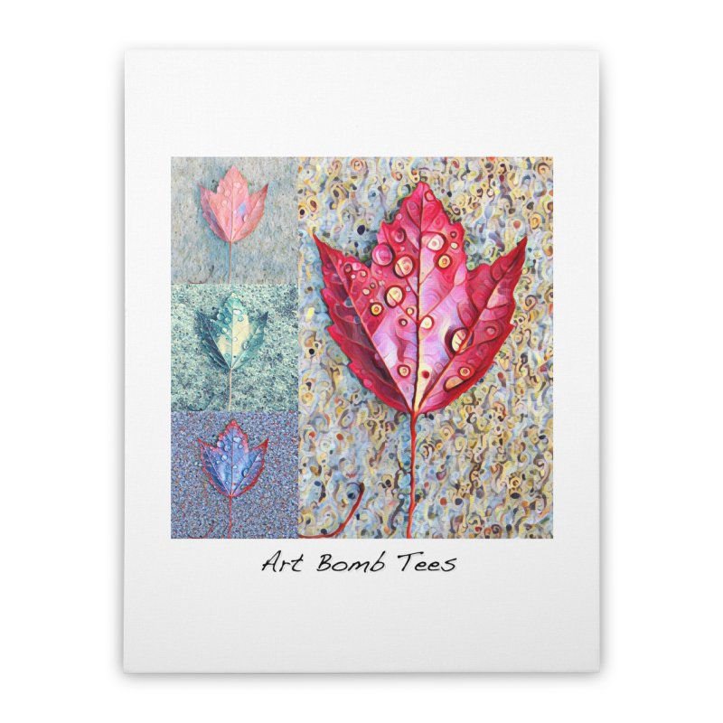 Autumn Colors  Home Stretched Canvas by artbombtees's Artist Shop
