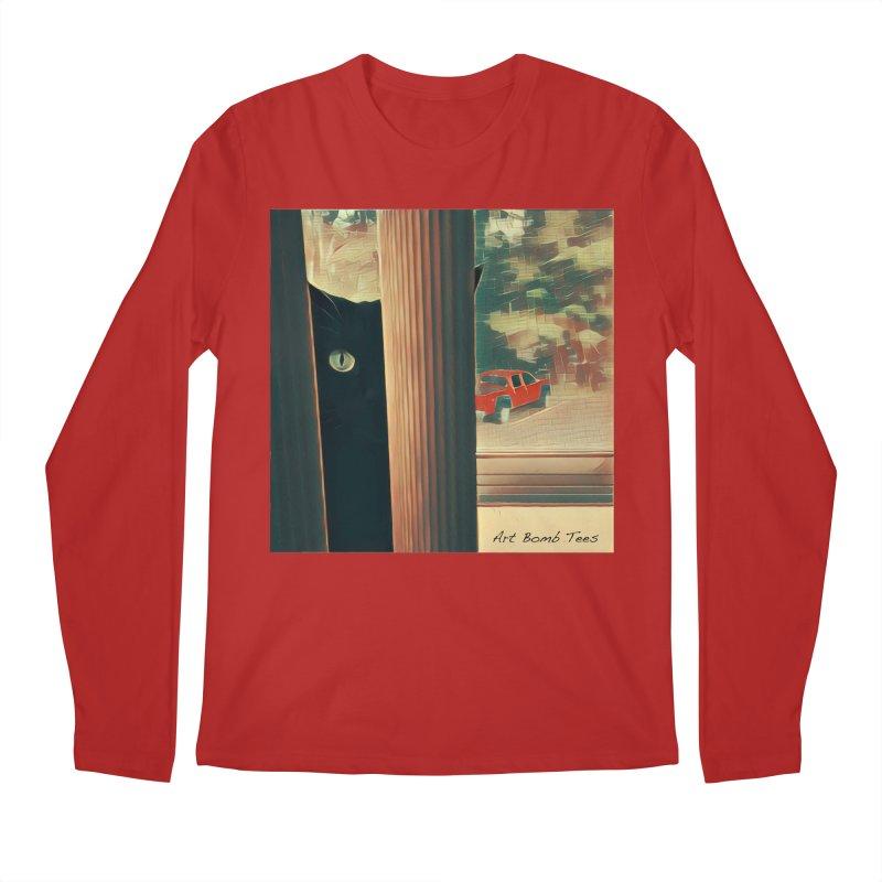 Cat's Eye Men's Longsleeve T-Shirt by artbombtees's Artist Shop