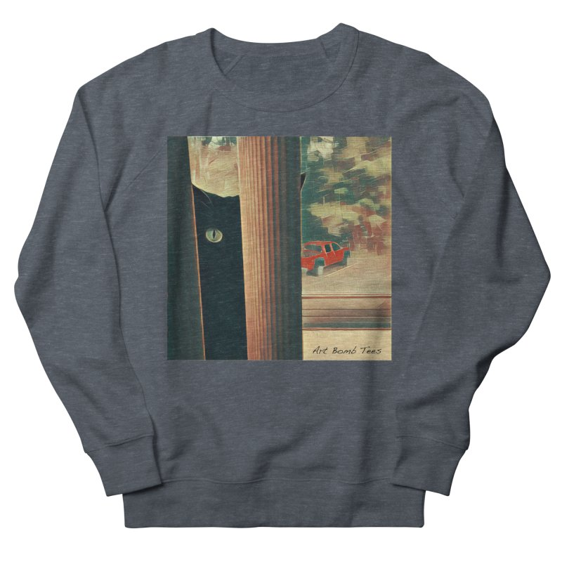 Cat's Eye Men's Sweatshirt by artbombtees's Artist Shop