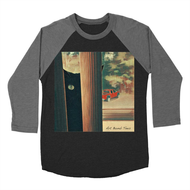 Cat's Eye Men's Baseball Triblend T-Shirt by artbombtees's Artist Shop