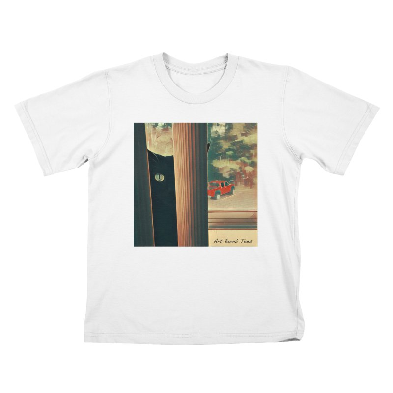 Cat's Eye Kids T-shirt by artbombtees's Artist Shop