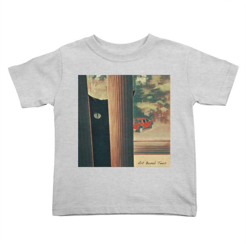 Cat's Eye Kids Toddler T-Shirt by artbombtees's Artist Shop