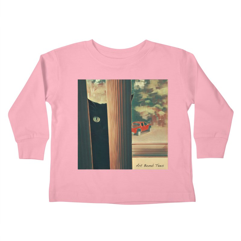 Cat's Eye Kids Toddler Longsleeve T-Shirt by artbombtees's Artist Shop
