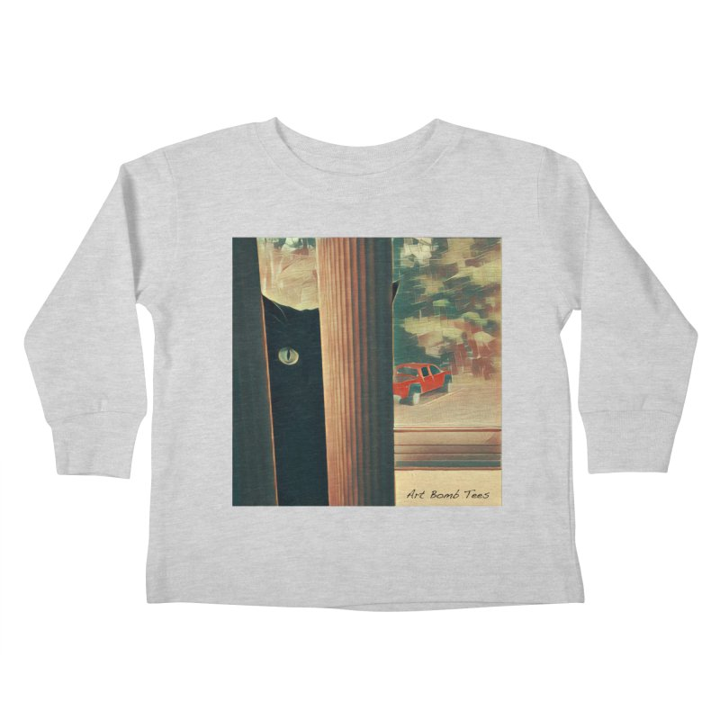 Cat's Eye Kids Toddler Longsleeve T-Shirt by artbombtees's Artist Shop