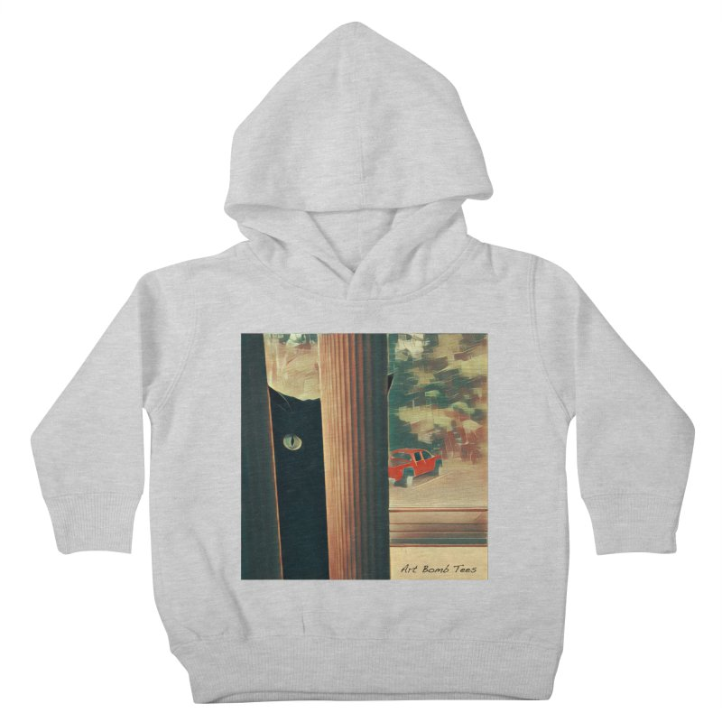 Cat's Eye Kids Toddler Pullover Hoody by artbombtees's Artist Shop
