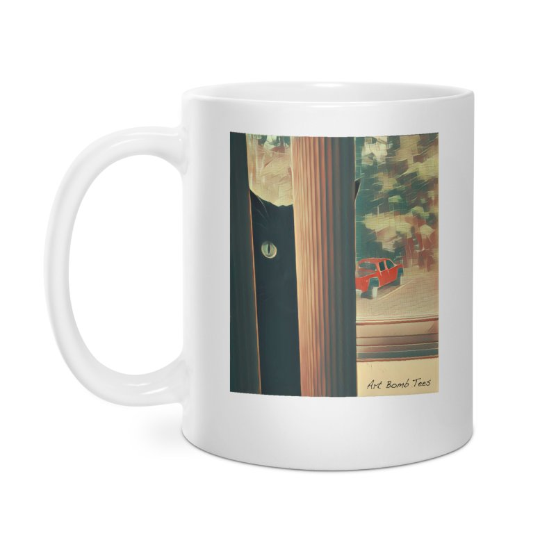 Cat's Eye Accessories Mug by artbombtees's Artist Shop