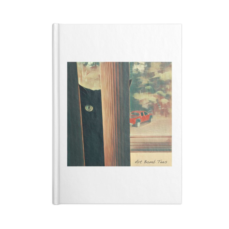 Cat's Eye Accessories Notebook by artbombtees's Artist Shop
