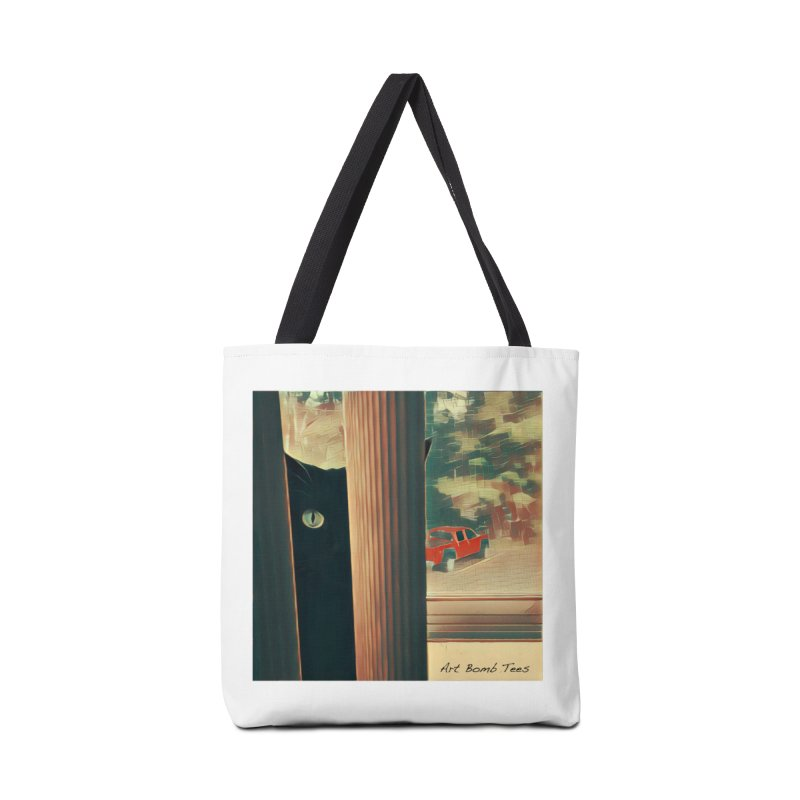 Cat's Eye Accessories Bag by artbombtees's Artist Shop