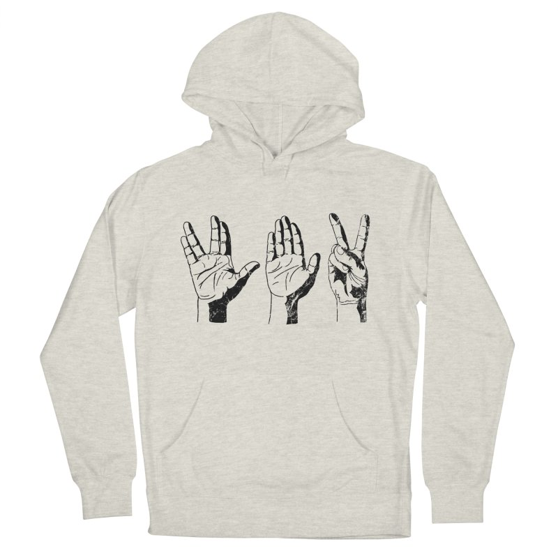 Spock-Paper-Scissors Men's French Terry Pullover Hoody by artboy's Artist Shop