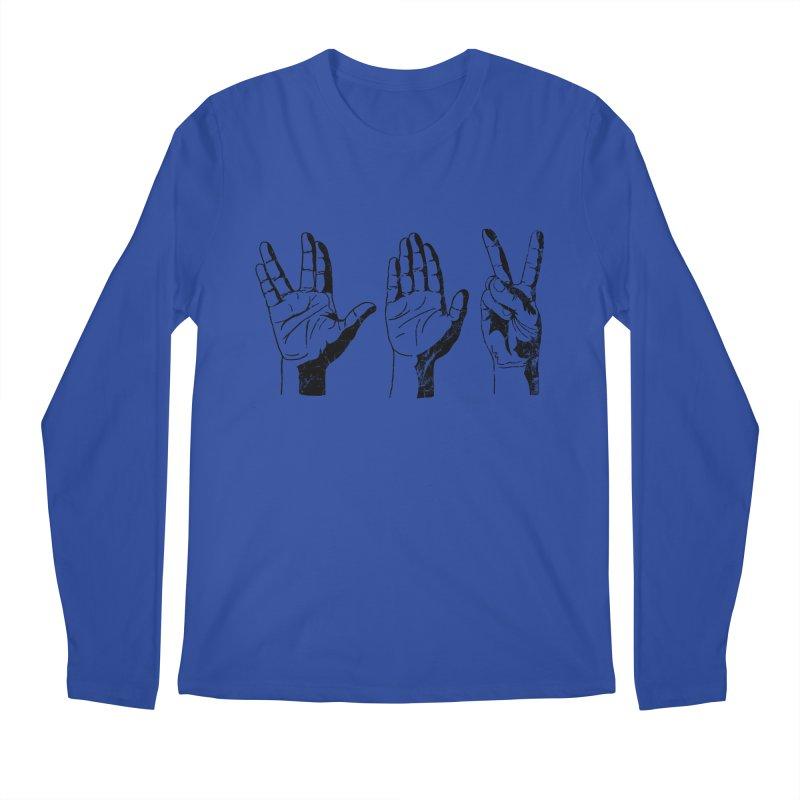 Spock-Paper-Scissors Men's Longsleeve T-Shirt by artboy's Artist Shop
