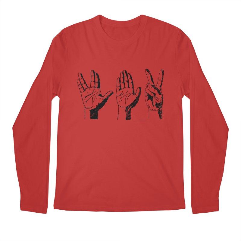 Spock-Paper-Scissors Men's Regular Longsleeve T-Shirt by artboy's Artist Shop
