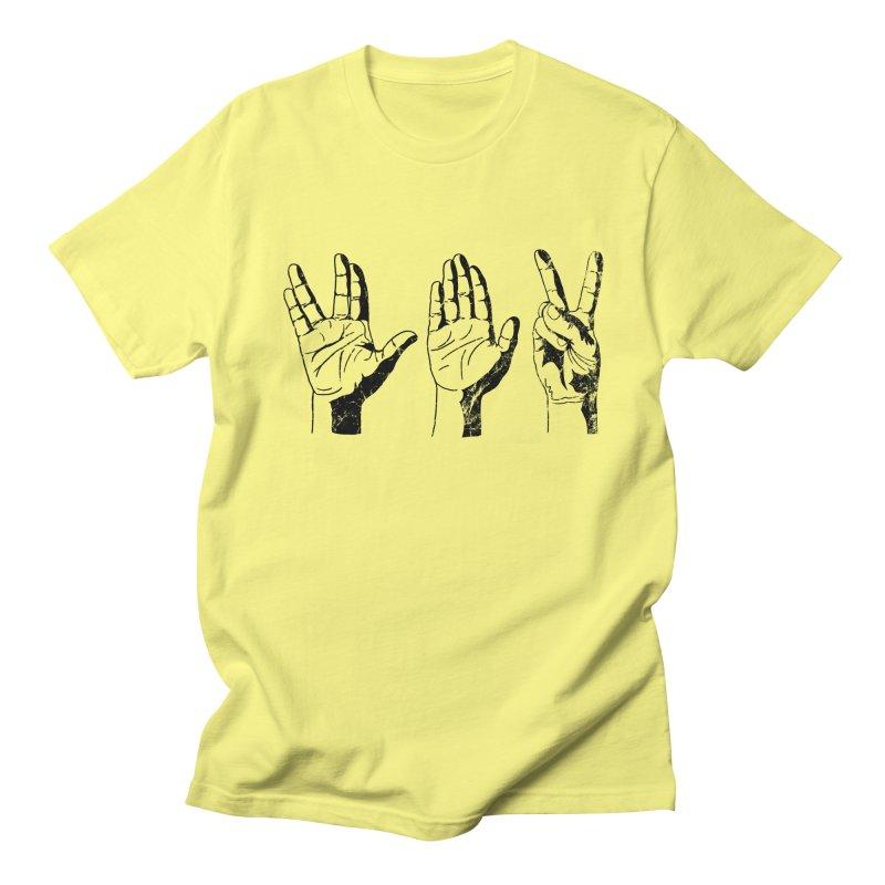 Spock-Paper-Scissors Men's T-shirt by artboy's Artist Shop