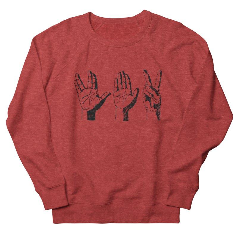 Spock-Paper-Scissors Women's French Terry Sweatshirt by artboy's Artist Shop