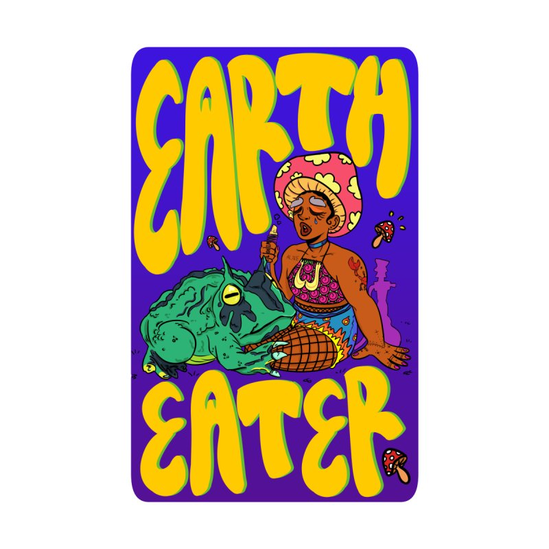 Earth Eater Women's Scoop Neck by Art by Ash Walsh