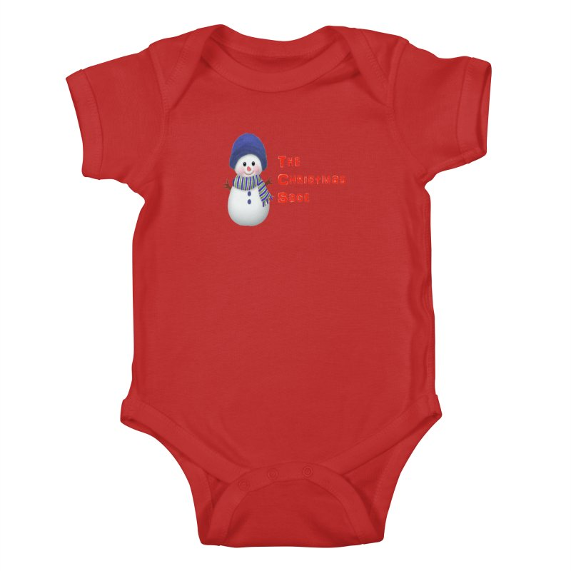 The Christmas Sage Logo Kids Baby Bodysuit by Art By BB's Artist Shop