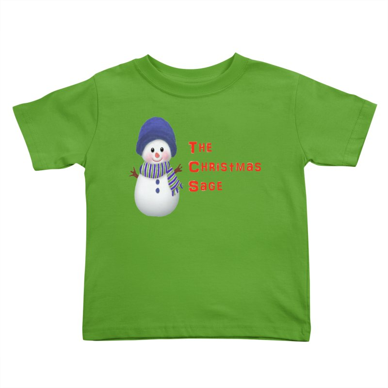 The Christmas Sage Logo Kids Toddler T-Shirt by Art By BB's Artist Shop