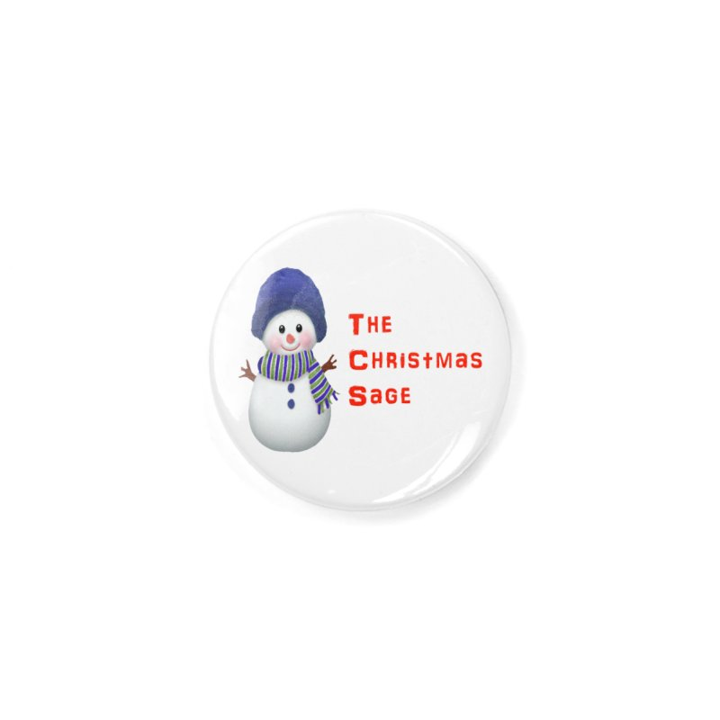 The Christmas Sage Logo Accessories Button by Art By BB's Artist Shop