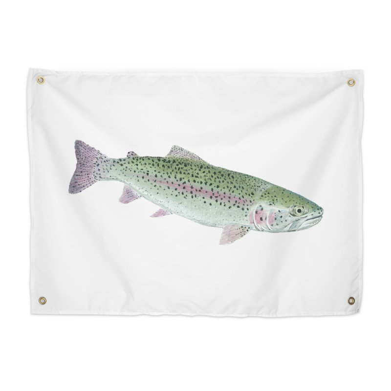 Rainbow Trout PNG Home Tapestry by Art By BB's Artist Shop