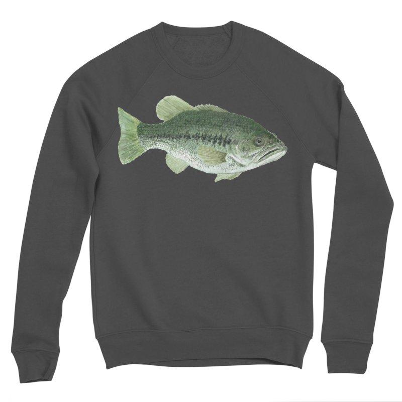 Largemouth Bass PNG Women's Sponge Fleece Sweatshirt by Art By BB's Artist Shop