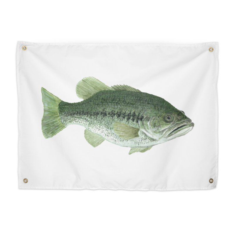 Largemouth Bass PNG Home Tapestry by Art By BB's Artist Shop