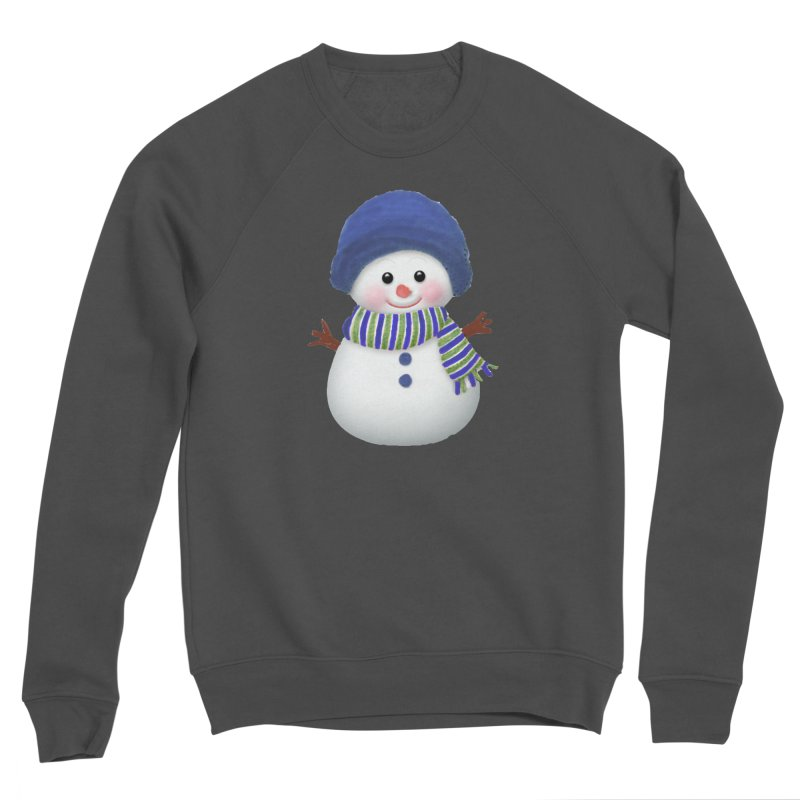 SnowmanSWB Women's Sponge Fleece Sweatshirt by Art By BB's Artist Shop