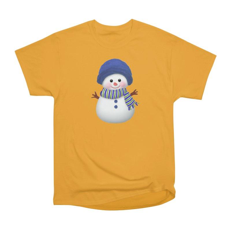 SnowmanSWB Women's Heavyweight Unisex T-Shirt by Art By BB's Artist Shop