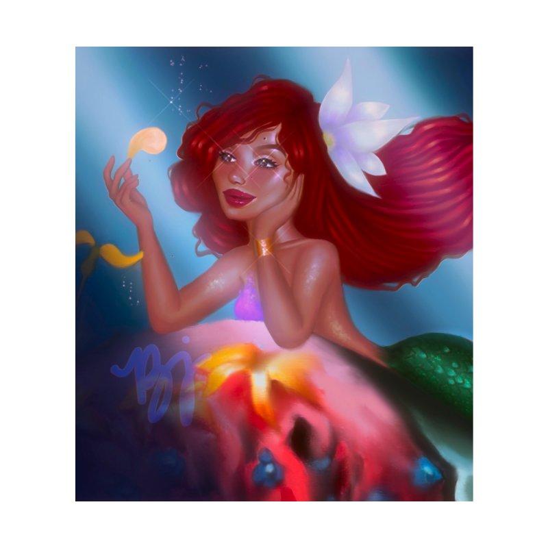 Halle the Little Mermaid Home Shower Curtain by artbybrookyln's Artist Shop