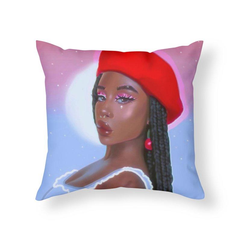 dEJAVu Home Throw Pillow by artbybrookyln's Artist Shop