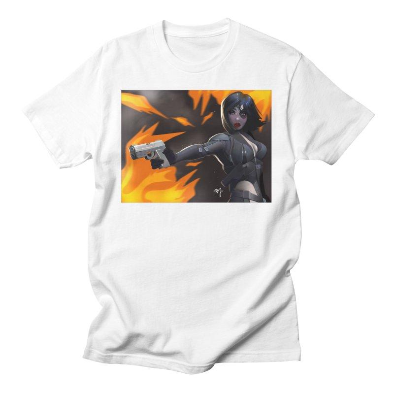 Marvel Comic Domino Men's T-Shirt by artbybrookyln's Artist Shop