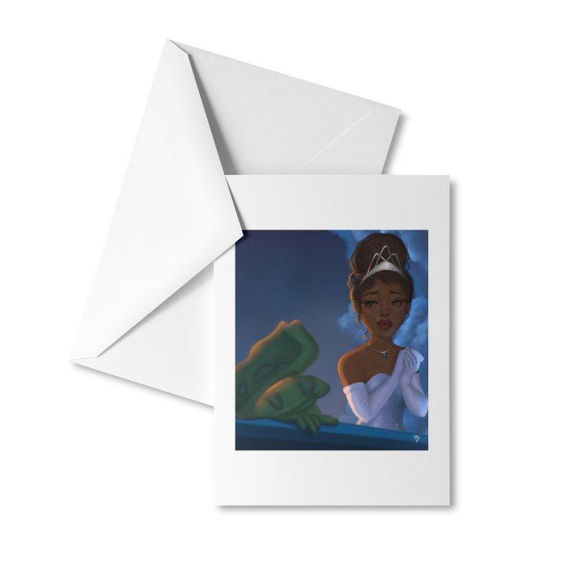Princess Tiana Accessories Greeting Card by artbybrookyln's Artist Shop