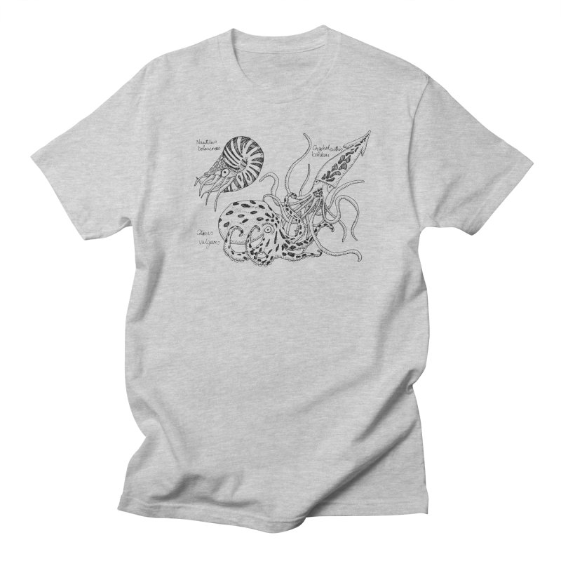 Cephalopods Men's T-shirt by artbydebbielindsay's Artist Shop