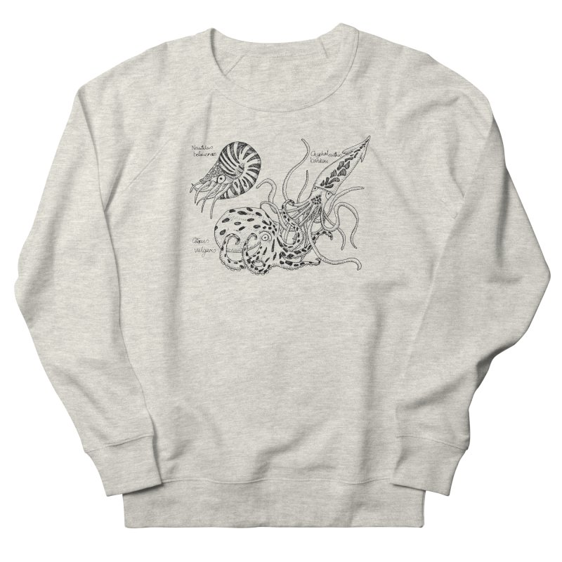 Cephalopods Men's Sweatshirt by artbydebbielindsay's Artist Shop