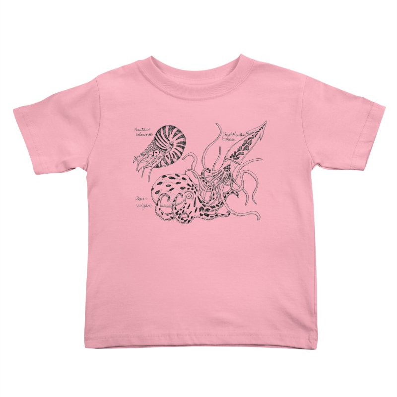 Cephalopods Kids Toddler T-Shirt by artbydebbielindsay's Artist Shop