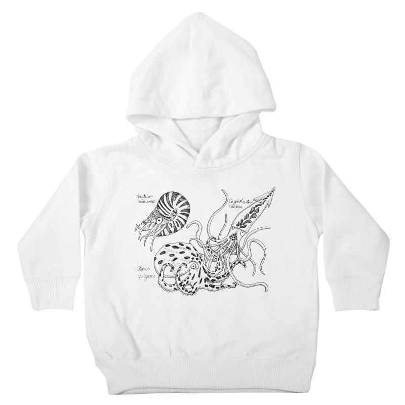 Cephalopods Kids Toddler Pullover Hoody by artbydebbielindsay's Artist Shop