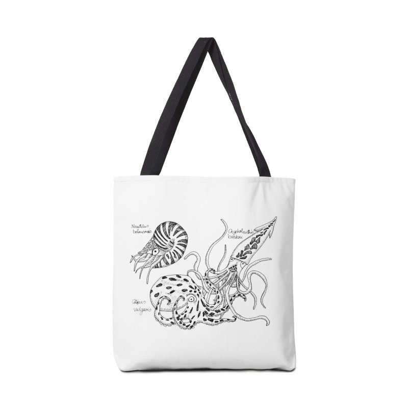 Cephalopods Accessories Bag by artbydebbielindsay's Artist Shop