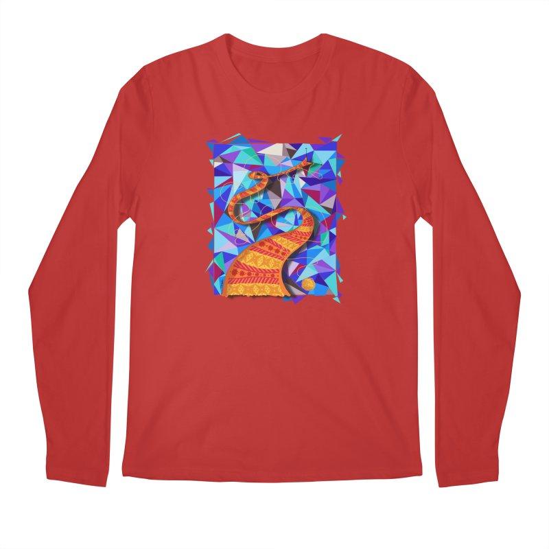 Cosmic Scarf Men's Longsleeve T-Shirt by artbydebbielindsay's Artist Shop