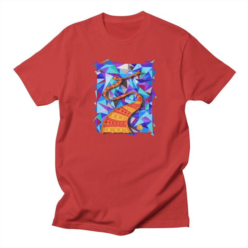Cosmic Scarf Men's T-Shirt by artbydebbielindsay's Artist Shop