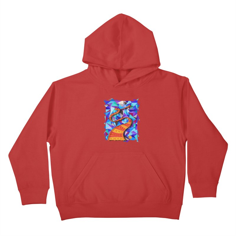 Cosmic Scarf Kids Pullover Hoody by artbydebbielindsay's Artist Shop